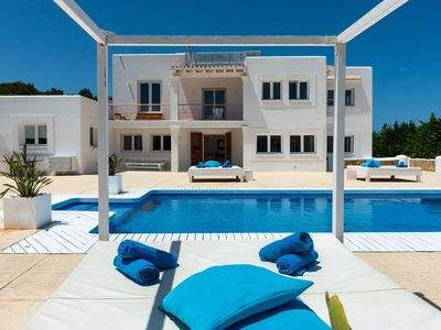 Photo for Panoramic Can Hill in in Ibiza, with 7 bedrooms, private pool, 18 sleeps