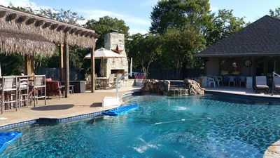 Photo for 4 BR w/ Fabulous Pool/Tiki Bar & Grill/ Separate Cabana Only Blocks To Campus