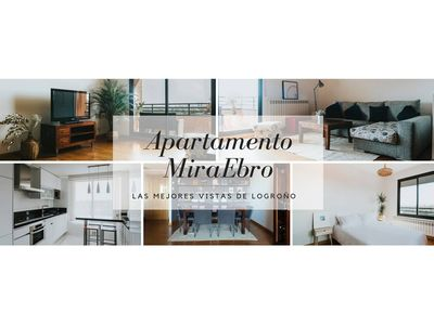 Photo for Miraebro Apartment - The best views of Logroño