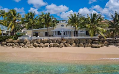 Photo for LITTLE GOOD HARBOR HOUSE BARBADOS -  3 Bedroom Chic Beach House at Little Good Harbour