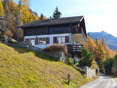 Photo for 3BR Chalet Vacation Rental in St-Luc, Valais