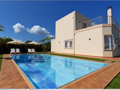 Photo for 3 bedroom cozy modern villa with superb Sea Mountain view