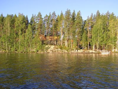 Photo for Large timber villa with splendid scenery and nature