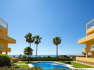 Photo for Luxury Front Line Beach Apartment - La Cala de Mijas - Arruzafa I