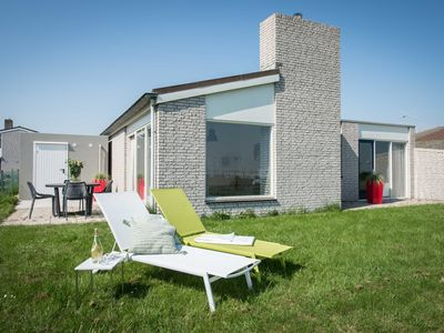 Photo for Uniquely located holiday home with a view of the marina and the Oosterschelde