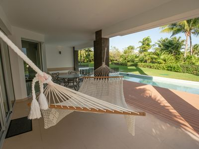 Photo for Casa Azul with Private Pool and short walk to beach 2 bdrm 2 bath