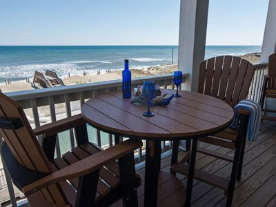 Photo for Newly built Oceanfront at Seven C's in Kill Devil Hills Pool. Oceanviews. Elevator (SC302 - C-Vie...