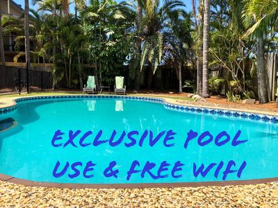 Photo for ENTIRE TOP LEVEL - 3KM TO SURFERS PARADISE- PRIVATE POOL. WI-FI.