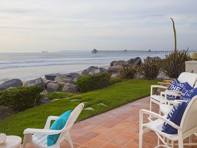 Photo for Relax on the Deck, Patio or beach and watch Dolphins frolicking in the waves
