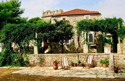 Photo for Historic villa with large gardens near the beach.