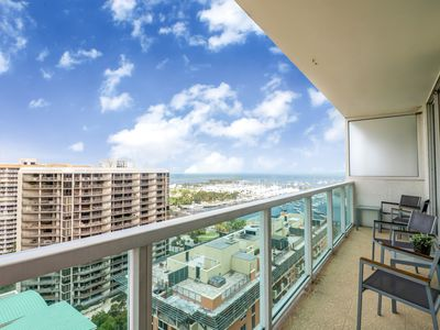Photo for Luxury apartment at Aria Coconut Grove Hotel (ex Sonesta) ready to be enjoyed!