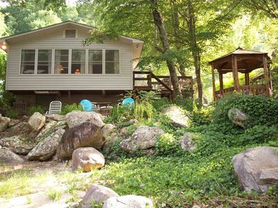 Photo for Chimney Rock State Park - Pet-Friendly Riverfront Cottage