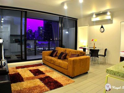 Photo for Royal Stays | Private Apartment | Full Kitchen | Laundry | Prime Location