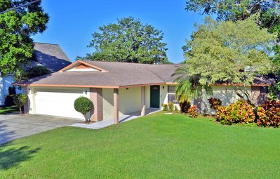 Photo for Bradenton Lakefront Vacation Rental Home with Heated Pool and Water Views
