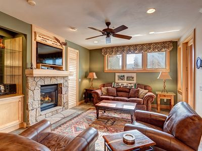 Photo for Located in Downtown Breckenridge, next to ski lifts, mountain views, garage park