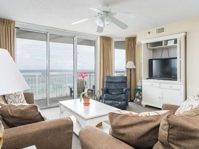 Photo for This spacious corner condo is your beach vacation answer. | Crescent Shores N. -  501