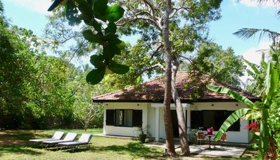 Photo for Kumbuk: Two bedroom hideaway steps from Mawella Beach