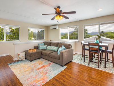 Photo for Great Reviews!!! WALK to Kailua town and Kailua Beach/MNT Views/AC/W/D/Kitchen