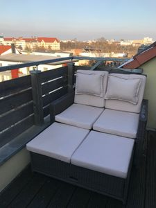 Photo for Chic 3-room DG apartment with roof terrace in the center of Magdeburg