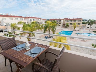 Photo for Apartment Valeria - Elegant and Newly Renovated Two Bedroom Apartment with Air Conditioning and Communal Pool, 300 Meters from the Beach ! FREE WiFi