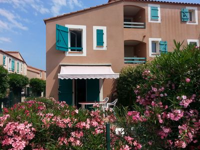 Photo for Torreilles Plage, Holiday house 2 bedrooms, courtyard, beachfront