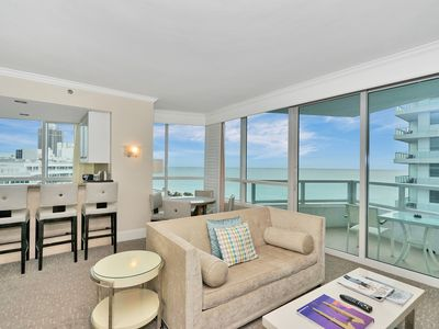Photo for Direct Ocean View 1 bed 2 bath In Fontainebleau Miami Beach