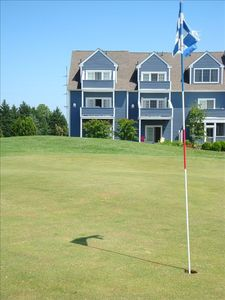 OUR END UNIT HOME ON THE GOLF COURSE