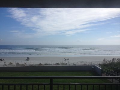 Photo for Direct Ocean Front 3/2 On 2nd Floor, No Cars On Beach, Easy Access To Beach