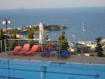 Photo for Villa Erofili, luxury maisonnette with breathtaking sea view up to 8 guests
