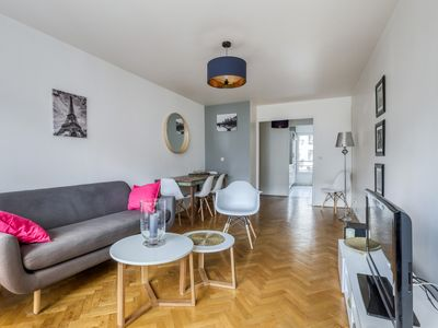 Photo for Bright apartment close to the center of Paris