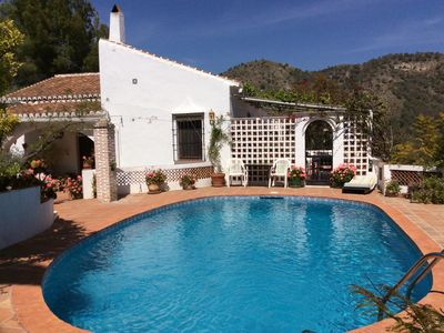Photo for A Traditional And Stylish Villa With Pool, Between Nerja And Frigiliana