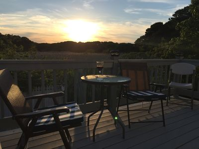We absolutely love the deck and the view it offers!