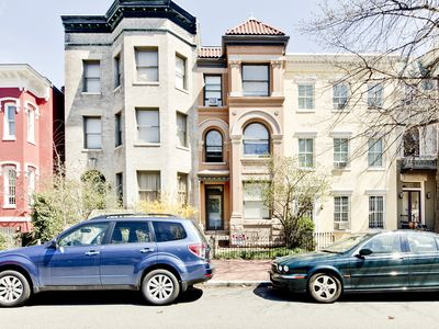 Photo for Steps from the Capitol and Monuments - Historic Brownstone WALK EVERYWHERE