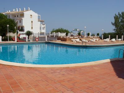 Photo for Mountain side Apartment,  Monte Pego, Denia.  Large Scenic Pool.