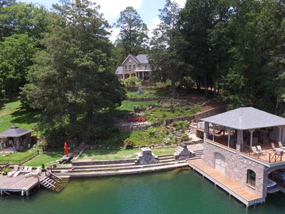 Photo for Large Lake Rabun Lakefront for Family Vacation - INITIAL LISTING PRICING!!!