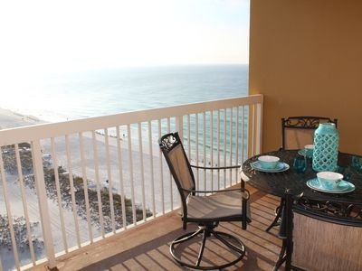 Photo for MOTHERS DAY Open!  Updated 2BR 2BA, on beach w/ views, pools, tiki bar, hot tub