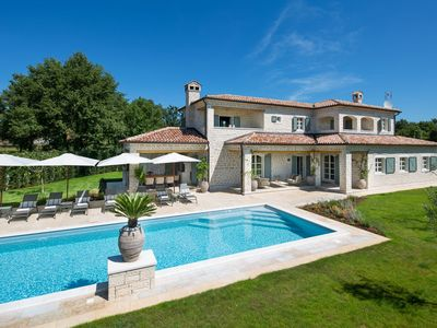 Photo for Beautiful luxury villa with private sports & ECO resort, Istria, Croatia