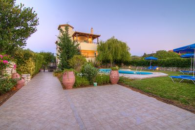 Spacious outdoor area, offering full privacy