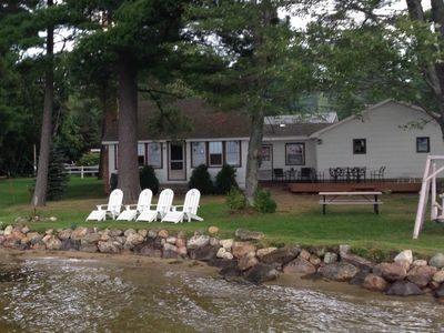 Photo for Adorable Lake Front Home with 115 Ft of Private Beach.