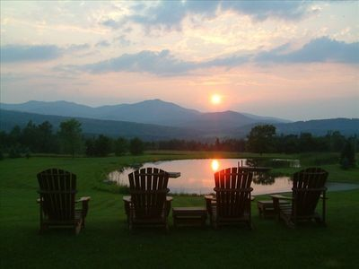 Awesome Sunsets in Adirondeck Chairs