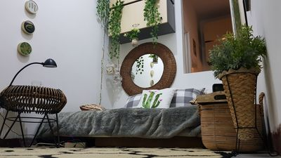 Photo for Boho Minimalistic Apartment, 1 person,Wifi, full amenities, great value of money