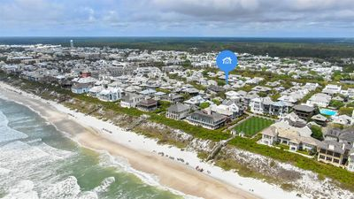 Aerial Views - Showing Effortless  Commute to the Beach