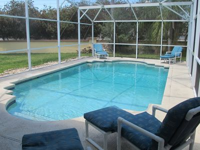 Photo for Large Lot, Pet Friendly, Pool Home near Disney