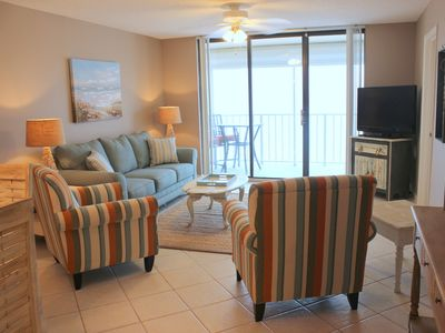 Photo for Beautifully decorated,recently remodeled gulf front 2/2