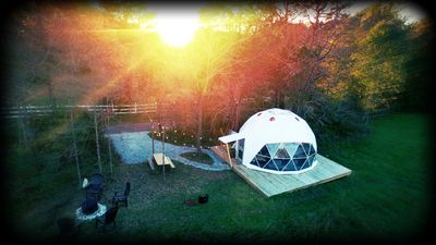 Photo for Come Glamp With Us!  Sleeps 4, Free WiFi