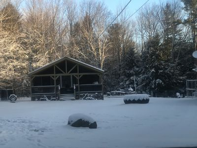 Photo for Windham Area 2 BR Cabin In The Woods