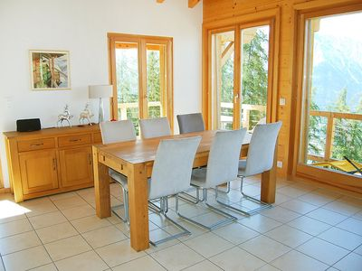 Photo for House 810 m from the center of Nendaz with Internet, Parking, Terrace, Balcony (37617)