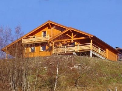 Photo for Chalet for 10-12 persons.  Luxurious. Week, week-end. Sauna and Jacuzzi