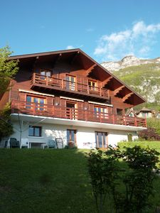 Photo for Lake Annecy - Veyrier-du-Lac - apartment on the garden level in chalet (50 sq.m)