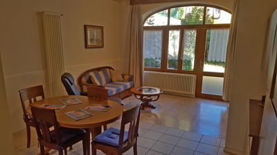 Photo for Delightful Three-Room Apartment with Lake Lugano view garden - ROSE APARTMENT